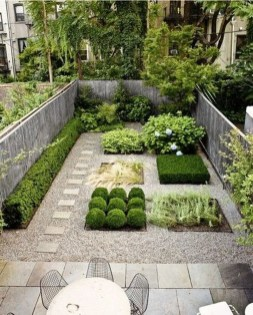 Small Courtyard Design With Some House Plants 03