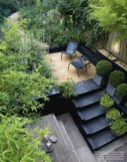 Small Courtyard Design With Some House Plants 31