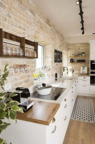 Small Kitchen Decor Idea With Farmhouse Style 17