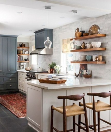 Small Kitchen Decor Idea With Farmhouse Style 19