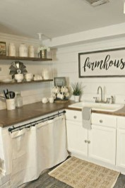 Small Kitchen Decor Idea With Farmhouse Style 28