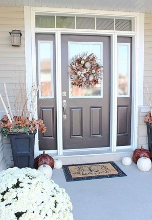 Stunning Fall Front Porch Decoration To Inspire Yourself 28