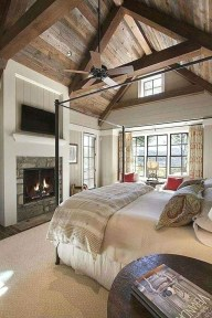 Best Farmhouse Bedroom Decoration You Can Do 01