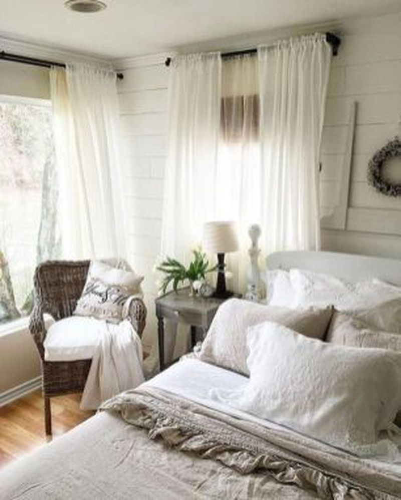 Best Farmhouse Bedroom Decoration You Can Do 30