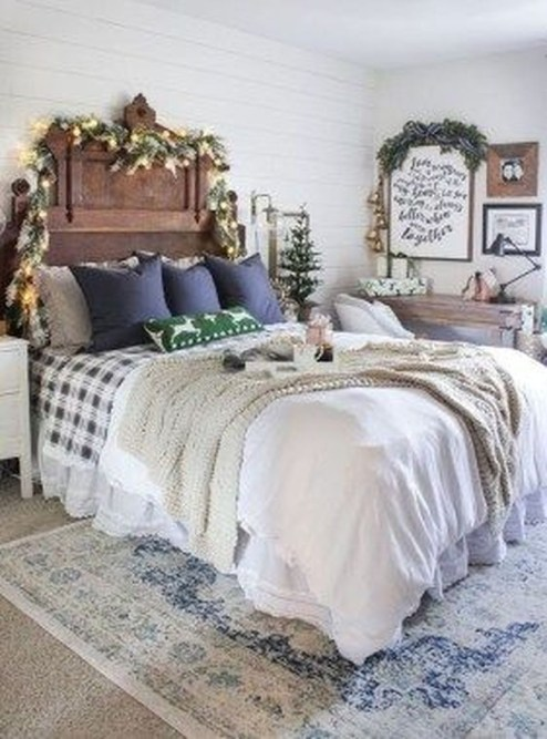 Best Farmhouse Bedroom Decoration You Can Do 34