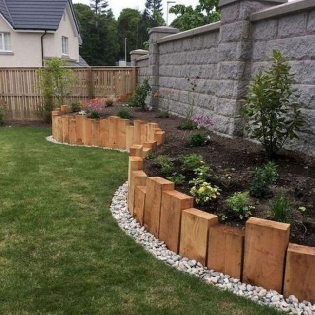 Incredible Edging Garden For Your Front Yard 01