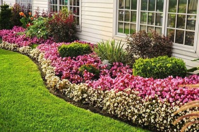 Incredible Edging Garden For Your Front Yard 32