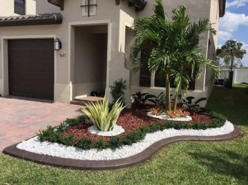 Incredible Edging Garden For Your Front Yard 35