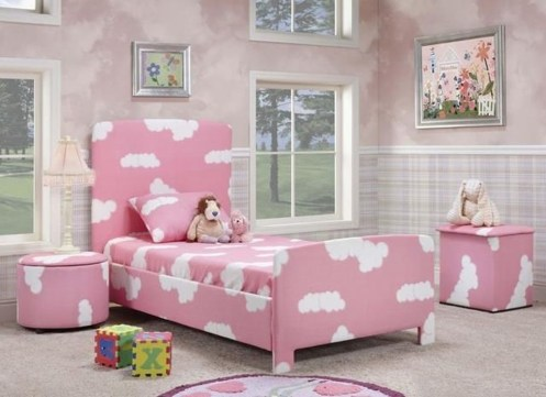 Lovely Small Bedroom Decor With Pink Nuance 01