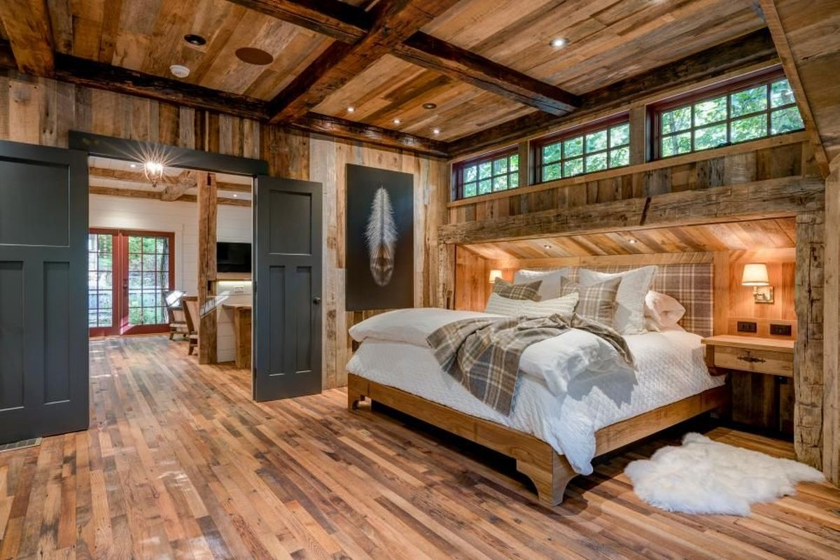 Nice Fall Bedroom Decoration For Farmhouse Style 06