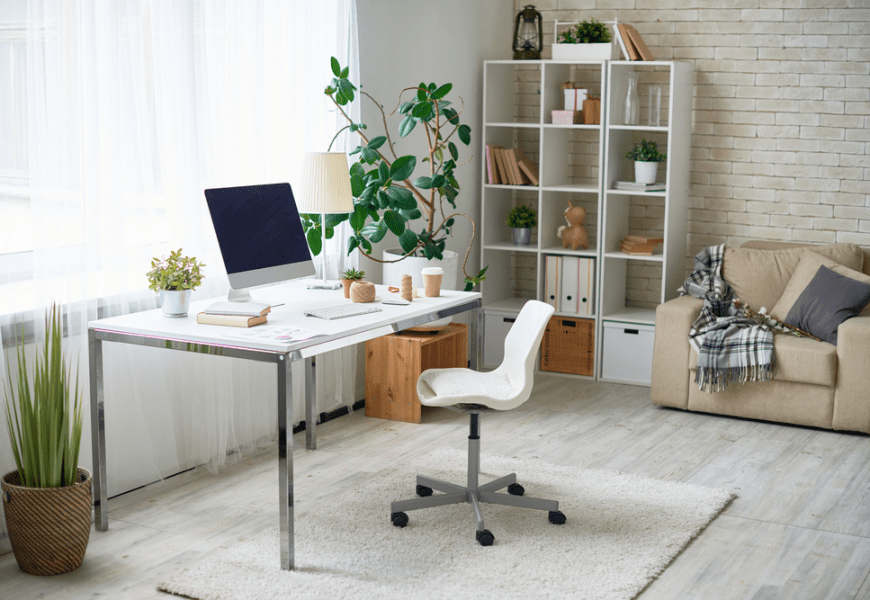 Freshen Up Your Working Space With These 27 Natural Home Office