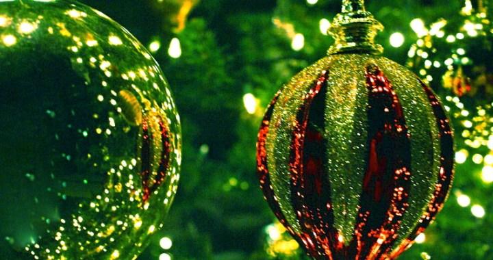 Grønn julepynt