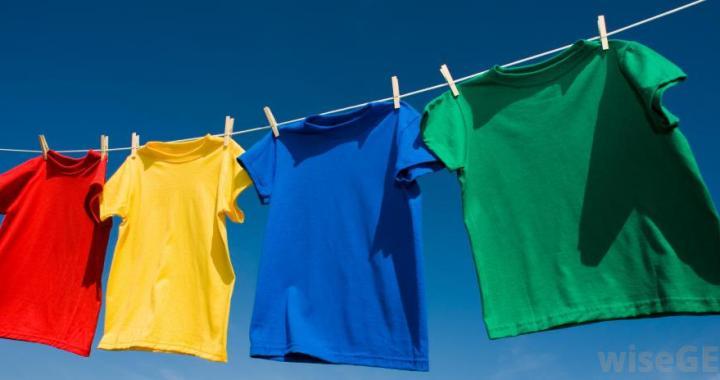 t-skjorter i flere farger
