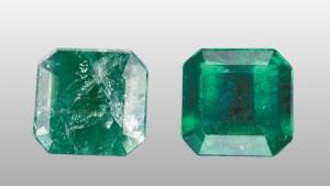 emerald treated