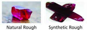 synthetic gemstone ruby