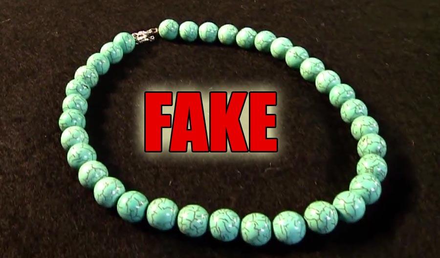 fake turquois