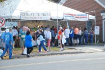 Christ Church has been serving fried oysters for many years at the festival.