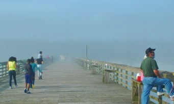 Myrtle Beach State Park Pier - Christmas Day 2015