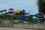 Water park adjacent to the resort hotel
