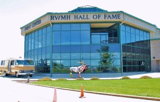 Th RV/MH Hall of Fame and Museum, Elkhart, Indiana