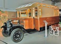 1928 Wiedman camper body on a Steward Truck chassis. The camper bodies were manufactured and sold independent of the chassis. The Buyer could use any chassis available and have the camper installed.
