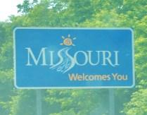 Crossing into Missouri