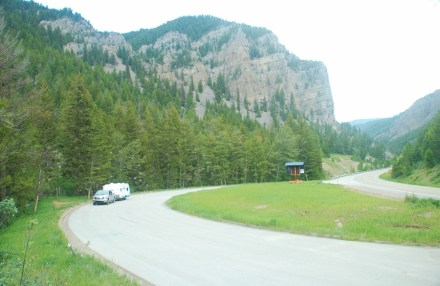 We stopped at one of the turnouts in Grand Teton National Park for a quick walk.