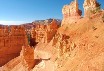 View from the just below the Rim of the Canyon