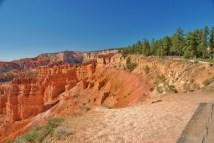 The Rim Trail circles the canyon