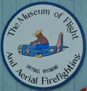 The Emblem of the Aerial Firefighters Museum