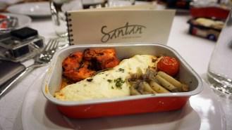 Salah satu menu Santan dari India. Yumm...