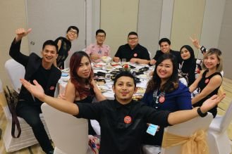 Indonesia, Brunei Darussalam, Myanmar, dan Malaysia dalam satu meja. (Foto: @kurapak)