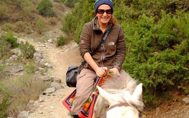 Hacer Aydın: Nepal'de Dağlara Aşığım…