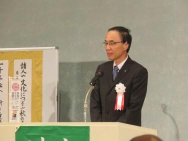 奈良市副市長 向井政彦氏