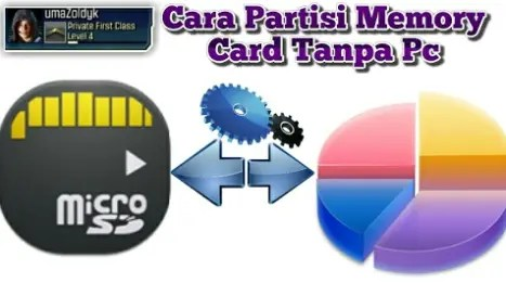 Cara Partisi SD Card Tanpa PC