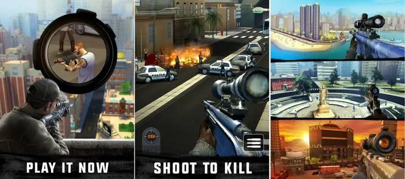 Sniper 3D Assassin Gun Shooter Mod Apk