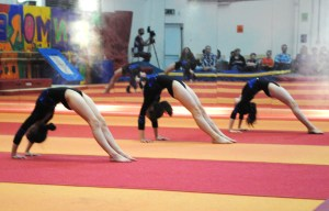 Gymfest is a chance for all members of the club to display the skills they have acquired.