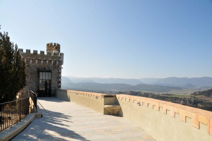 La Tour Magdala et le Belvédère du Domaine de Bérenger Saunière à Rennes-Le-Château