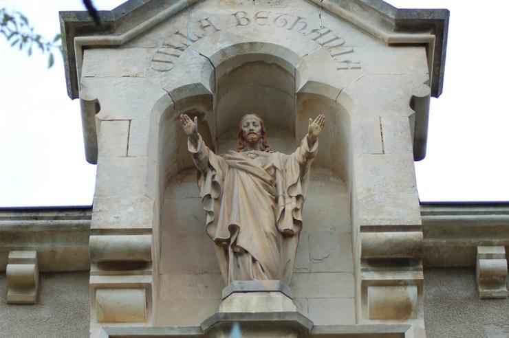 Le Christ de la Villa Béthanie du Domaine de Bérenger Saunière à Rennes-Le-Château