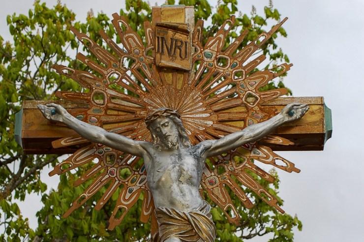 Le Christ des jardins de l'église de Rennes-Le-Château