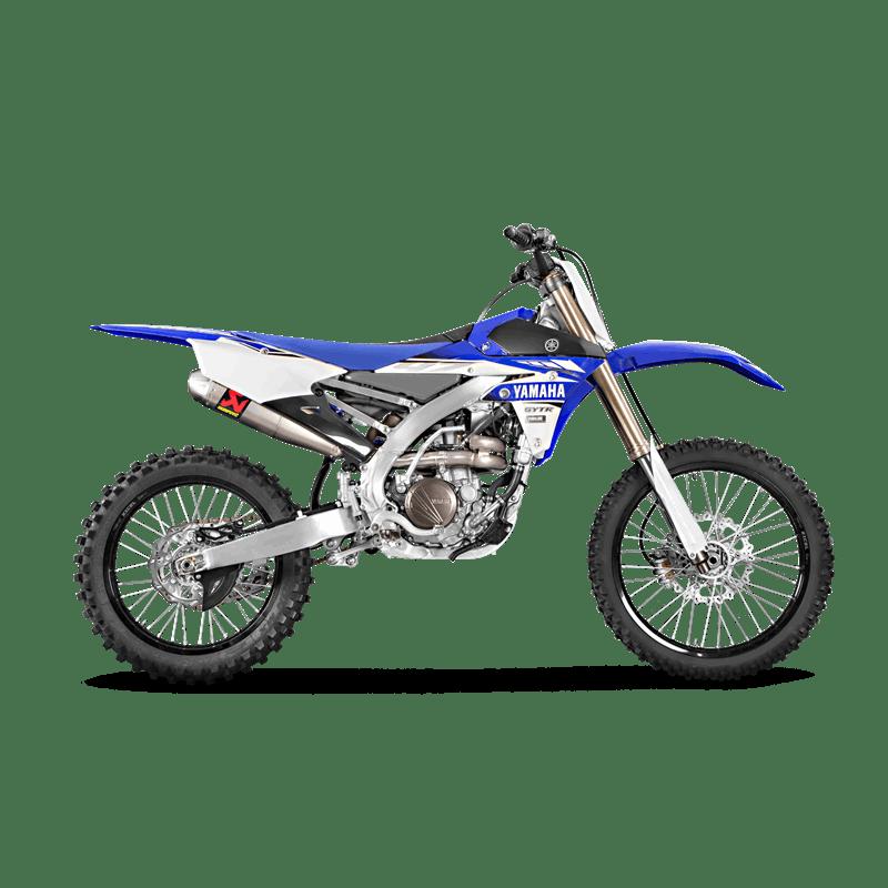 Akrapovic Yamaha YZ 250 F 2014-2018 Racing Line (Titanium