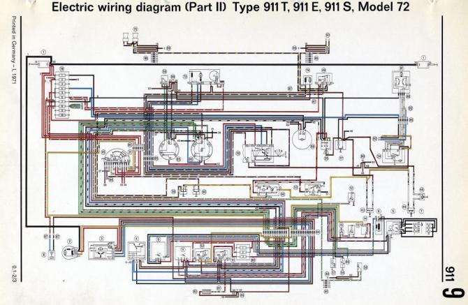 porsche wiring diagrams 911  wiring diagram for 03 deville