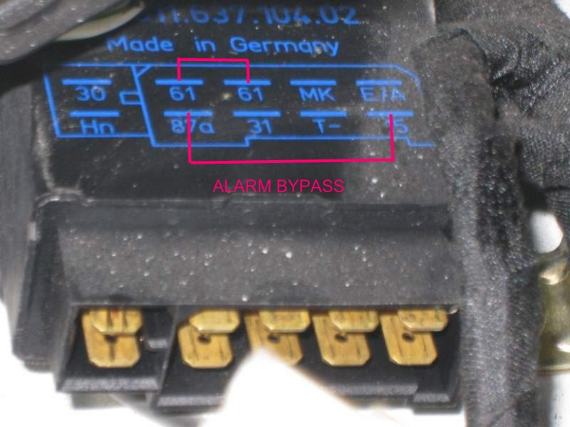 Wiring Diagram For Air Blower Key Broke Off In Alarm Switch Need Help On Bypassing