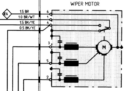 Wiring Diagram In Addition Porsche 928 Wiper Motor, Wiring