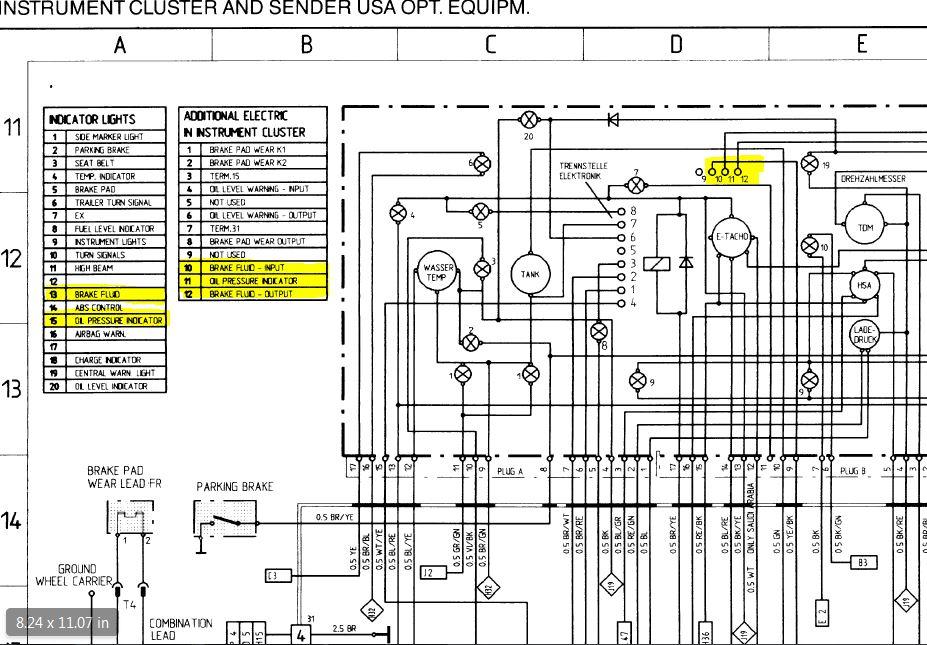 low oil pressure light wiring diagram