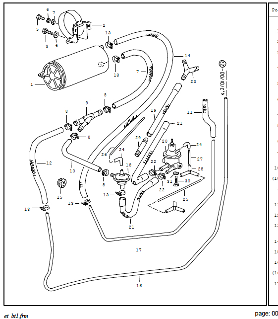 1986 Porsche 928 Vacuum Diagram. Porsche. Auto Wiring Diagram