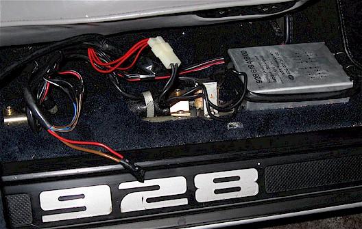 Porsche 928 Radio Wiring