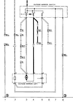 OB side mirror switch wiring?  Rennlist  Porsche Discussion Forums