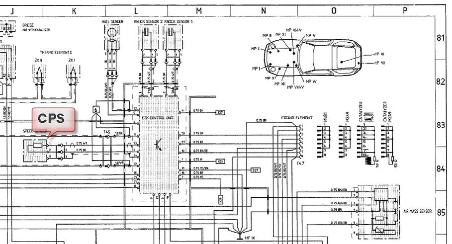 porsche 924 wiring diagram spst switch type s model 87 sheet 944 electrics 928 for you