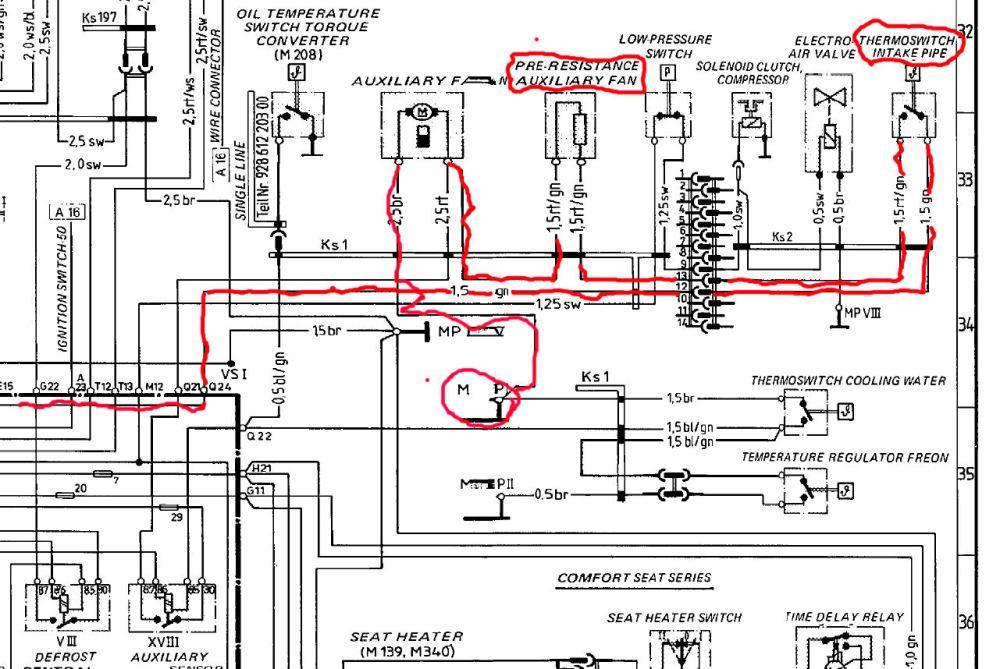medium resolution of 85 porsche 911 wiring diagram get free image about